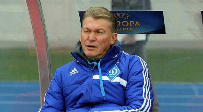 Блохін розповів, чому вирішив покинути збірну України та перейти в Динамо