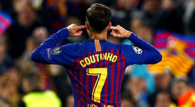 """Барселона – Реал Сосьєдад: фанати """"блаугранас"""" освистали Коутінью за провокаційний жест"""