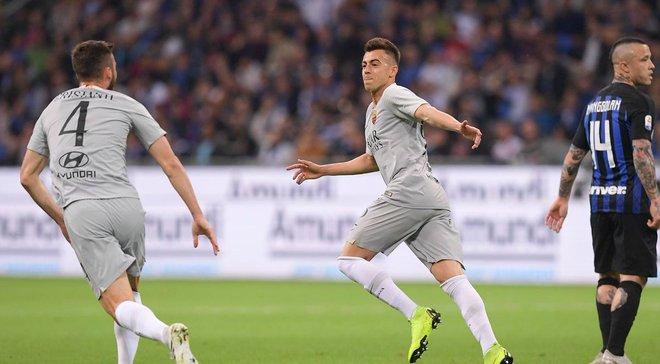 Эффектный гол Эль-Шаарави в видеообзоре матча Интер – Рома