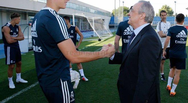 """""""Гра стільців"""": Лунін та Куртуа ризикують стати причиною першого великого конфлікту Зідана з керівництвом Реала"""