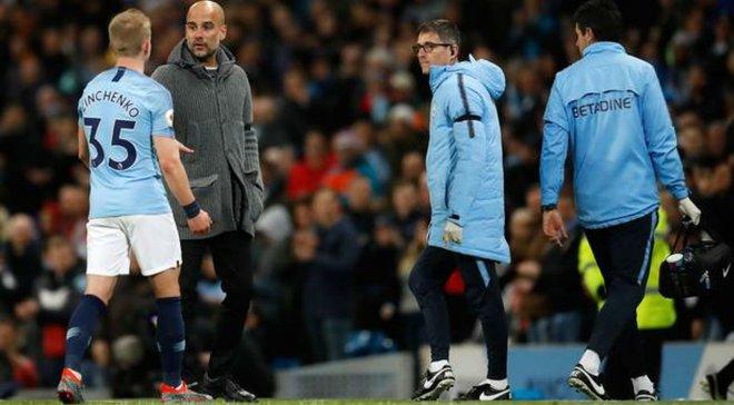 Манчестер Сити Зинченко не получит шампанское в случае победы в Кубке Англии – FA изменила правила награждения