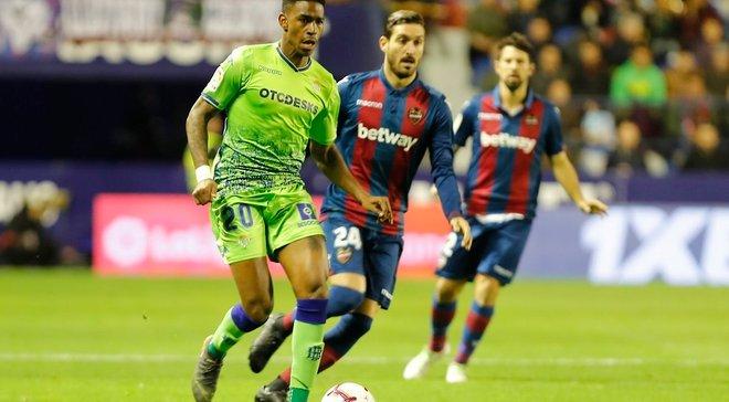 Леганес уступил Атлетику, Леванте разгромил Бетис, Атлетико победил Валенсию: 34-й тур Ла Лиги, матчи среды