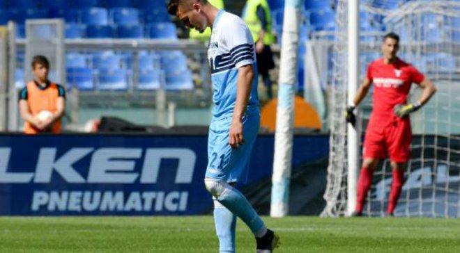 Милинкович-Савич получил травму в матче с Миланом – он должен сыграть против сборной Украины