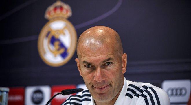 Зідан готовий до того, що хтось із конкурентів Луніна захоче покинути Реал