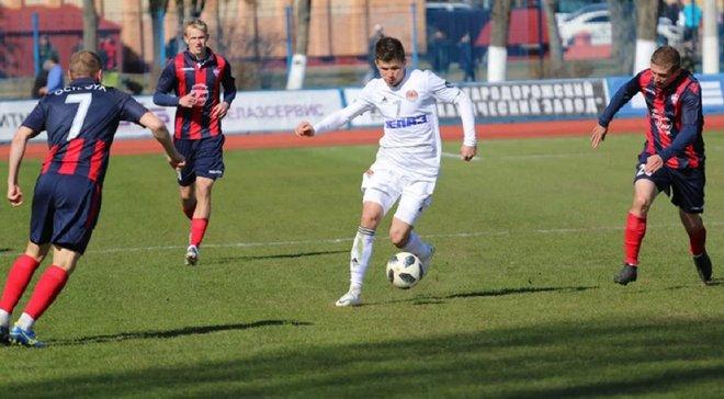 Українець забив гол після епічного фейлу воротаря в чемпіонаті Білорусі