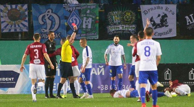 Львов – Динамо: Бущан всемогущий, эпидемия удалений киевлян, отмененные голы и продолжение приметы