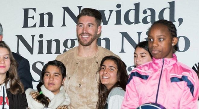 Рамос собрал 1,5 млн евро на благотворительность одним постом в Instagram – благородный поступок