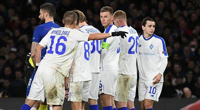 УЕФА оштрафовал Динамо на солидную сумму за нарушения в матче с Челси