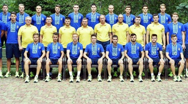 Сборная Украины U-20 проведет 2 спарринга перед чемпионатом мира-2019