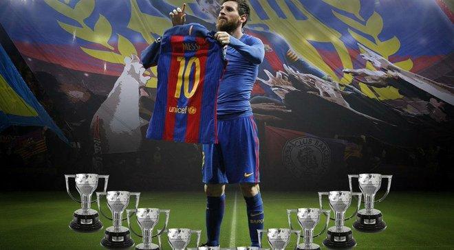 Гол Месси принес «Барселоне» 26-й титул чемпионов Испании