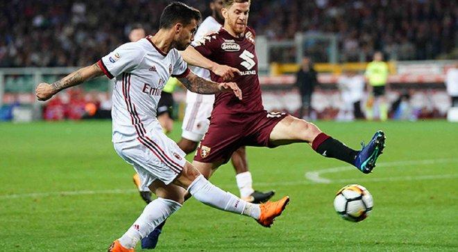 Милан уступил Торино, Лацио победил Сампдорию, Кьево расписал ничью с Пармой: 34-й тур Серии А, матчи воскресенья
