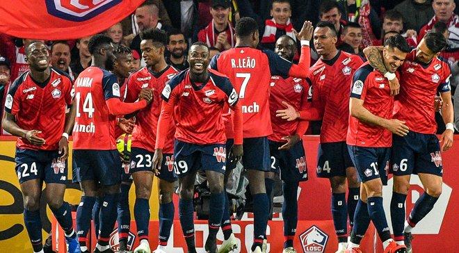 Лига 1: Марсель неожиданно проигрывает, Пепе повторяет достижение Азара, Сент-Этьеном бьется за Лигу чемпионов