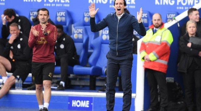 Эмери – о третьем подряд поражении Арсенала в АПЛ: Лига Европы - большая мотивация для нас