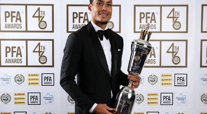 Ван Дейк официально стал лучшим игроком года в АПЛ
