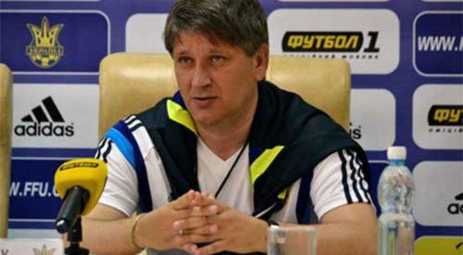 Ковалец вспомнил первый матч в истории сборной Украины
