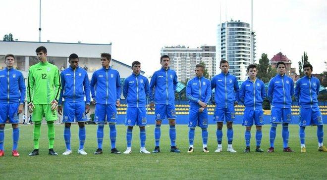 Збірна України U-16 розбомбила Фіджі в стартовому матчі Кубка розвитку УЄФА