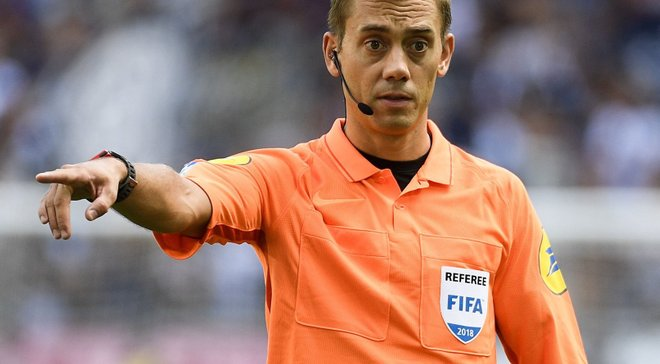Лига Европы: судейские назначения на матчи 1/2 финала турнира