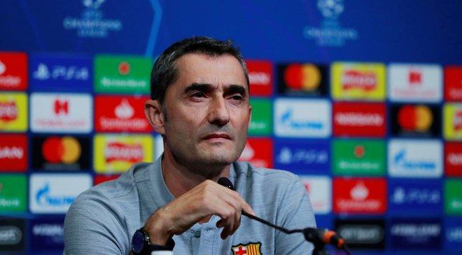 Барселона – Ливерпуль: предматчевая пресс-конференция Эрнесто Вальверде