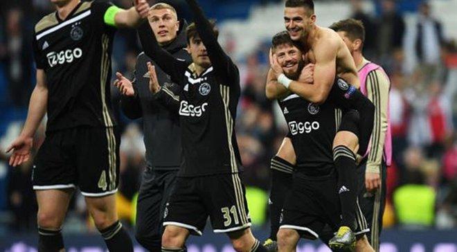 Аякс установил новый рекорд клуба по забитым мячам на выезде в Лиге чемпионов