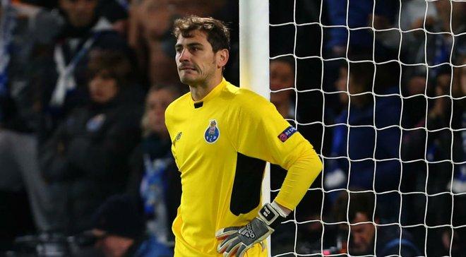 Гравці та фанати Порту зворушливо підтримали Касільяса, який переніс інфаркт