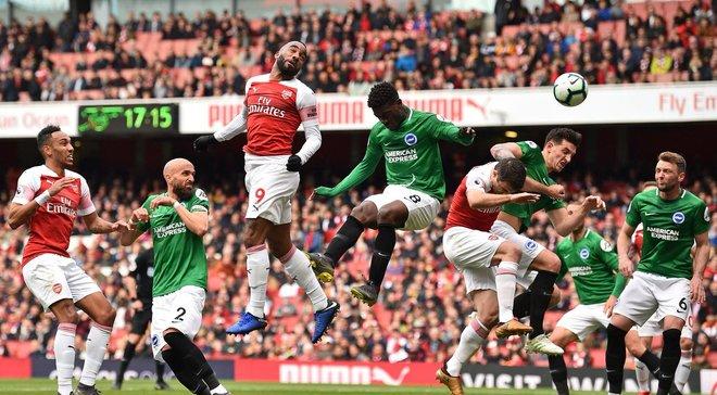 Арсенал – Брайтон – 1:1 – відео голів та огляд матчу