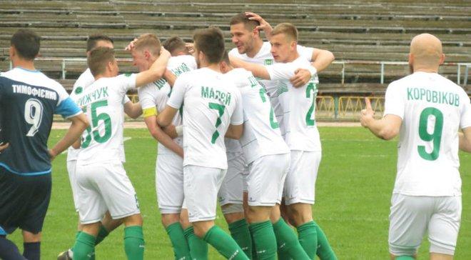 Вторая лига: Нива В в фантастическом матче победила Калуш, Кремень разгромил Николаев-2 и приблизился к Первой лиги