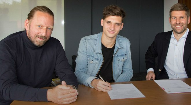 Штутгарт подписал 18-летнего аргентинца украинского происхождения