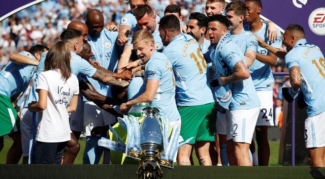 Зінченко: Коли перекинув кубок чемпіонів Англії, думав, що вже більше не вийду в футболці Манчестер Сіті