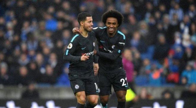 Виллиан: Надеюсь, Азар останется в Челси, но в футболе никогда не знаешь, как все будет