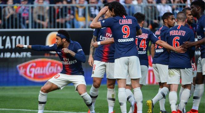 ПСЖ завдяки Неймару обіграв Анже – парижани першими у топ-5 чемпіонатах забили 100 голів за сезон