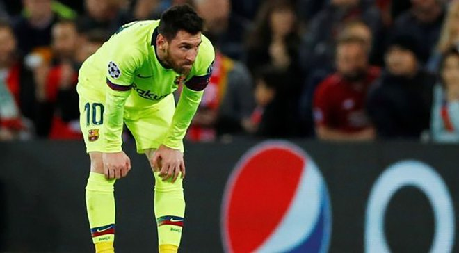 Месси сменил имидж после поражения от Ливерпуля