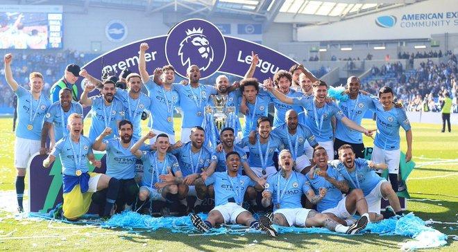 Главные новости футбола 12 мая: Манчестер Сити Зинченко стал чемпионом Англии, феерия украинцев в Европе