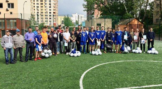 Завершився турнір пам'яті Валерія Лобановського, де перемогла команда школи, в якій навчався Метр і яка носить його ім'я