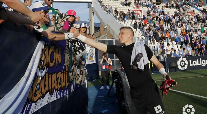 """Игрок матча с Эспаньолом, или """"Он будет великим"""" – Лунин впечатлил Леганес и испанские СМИ, украинец провоцирует Реал"""
