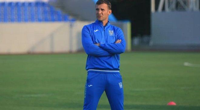 Шевченко запросив на збір національної команди України 11 молодих гравців
