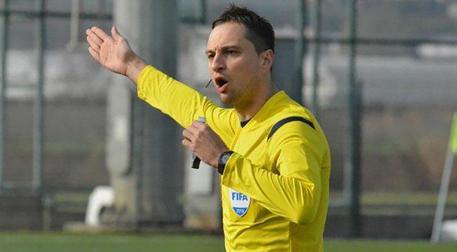 Балакин назначенный арбитром на полуфинал Евро U-17