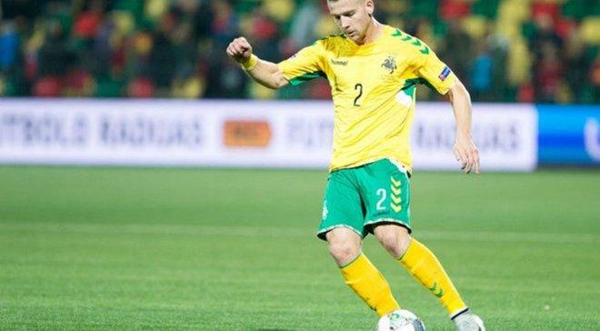 Захисник Литви Клімавічус пригадав свій етап кар'єри в Україні
