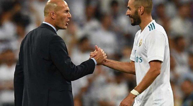 """""""Зідан – член моєї сім'ї"""", – Бензема розповів про стосунки з наставником Реала"""