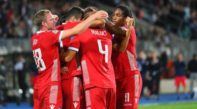 Люксембург объявил заявку на матчи против Украины и Литвы