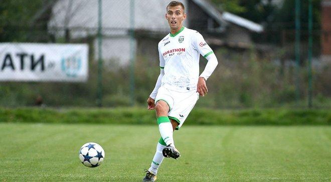 Защитник Карпат Авраменко вызван на общий сбор национальной и молодежной команды Украины