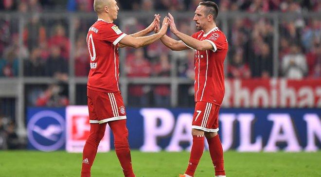 Роббен та Рібері забили в останньому матчі за Баварію у Бундеслізі