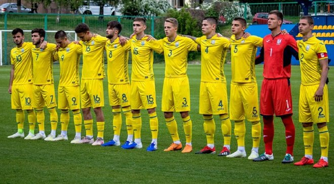 Сборная Украины U-20 сыграла вничью со сверстниками из ЮАР в заключительном матче подготовки к чемпионату мира