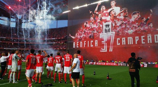 Бенфика выиграла чемпионат Португалии в 37-й раз