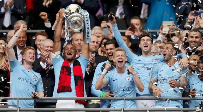 Главные новости футбола 18 мая: Зинченко выиграл Кубок Англии, Бавария – чемпион Германии, Динамо одолело Мариуполь