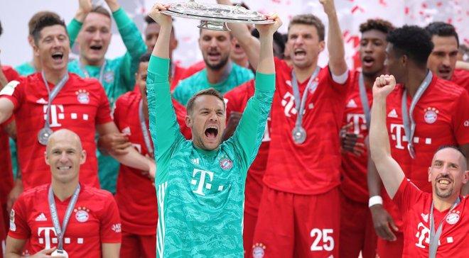 Тріумф Баварії у Бундеслізі зробив сезон 2018/19 унікальним для топ-5 ліг Європи