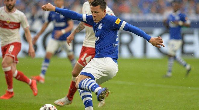 Коноплянка впервые после травмы сыграл за Шальке – видеообзор матча против Штутгарта