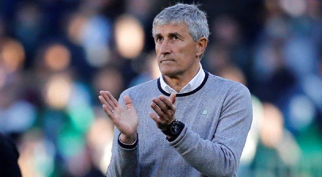 Наставник Бетіса Сетьєн покинув команду після перемоги над Реалом