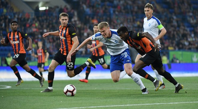 Шахтер – Динамо – 1:1 – видео голов и обзор матча