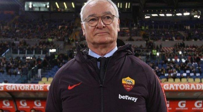 Раньери скептически оценил шансы Ромы на скорое возвращение в Лигу чемпионов