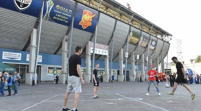 Спонсори фіналу Кубка України залишили незабутні спогади Запоріжжю